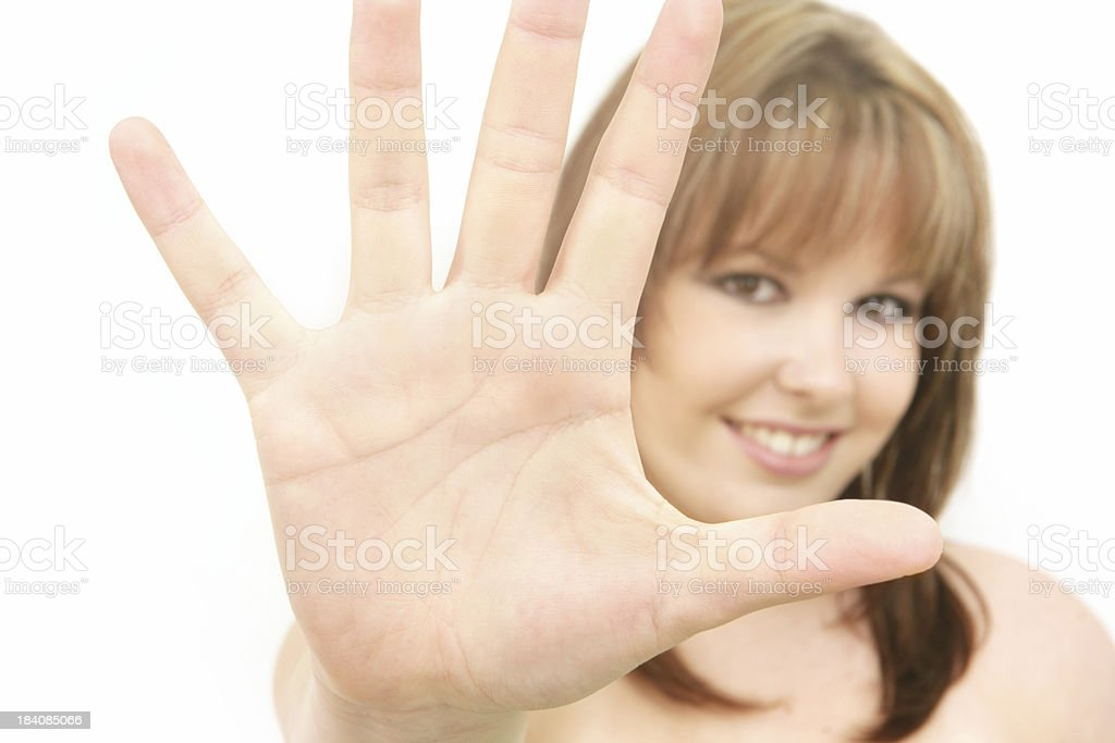 Hold It royalty-free stock photo