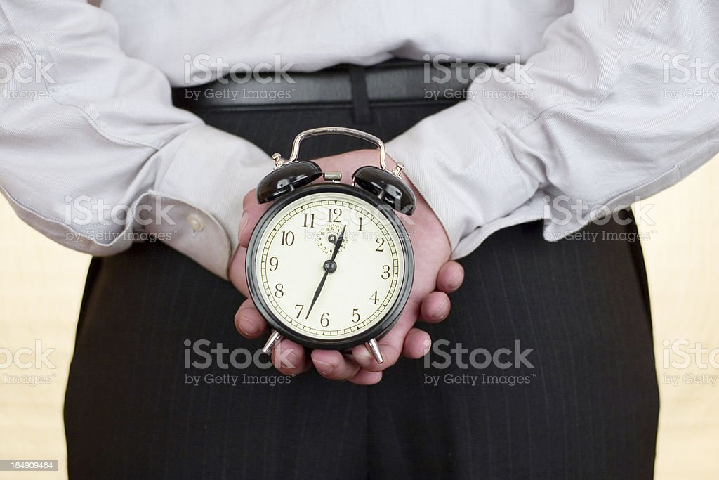 Hold of time royalty-free stock photo