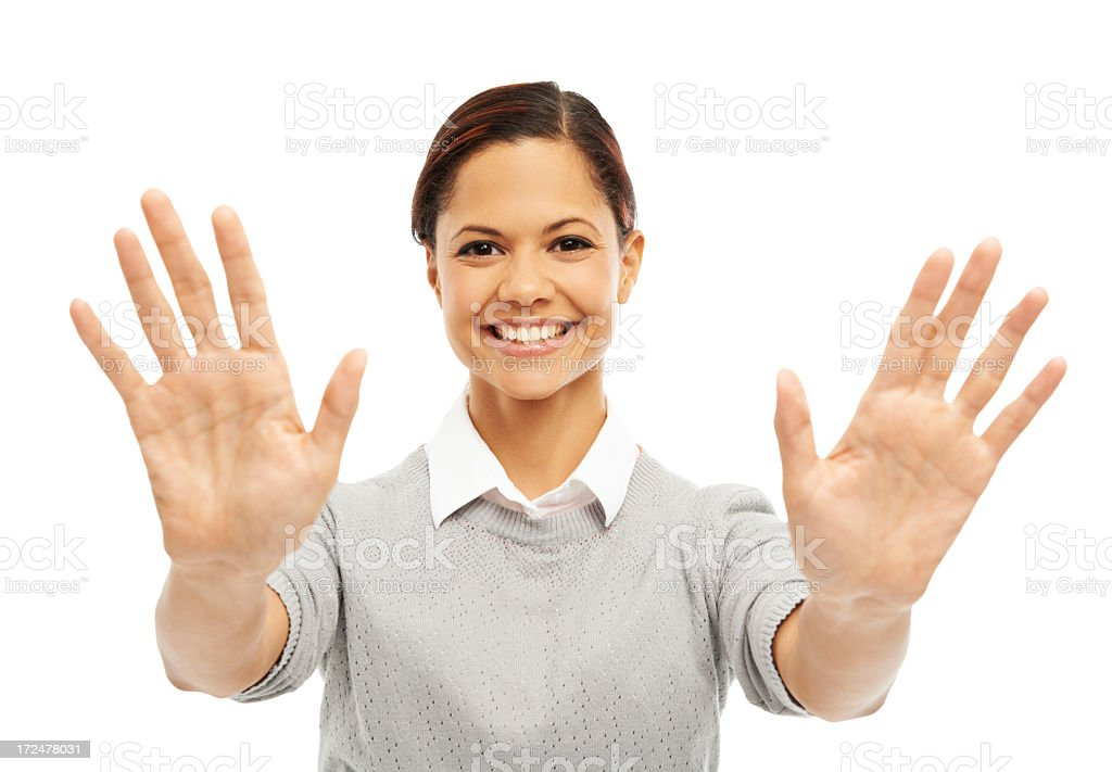 Hold on there…. royalty-free stock photo