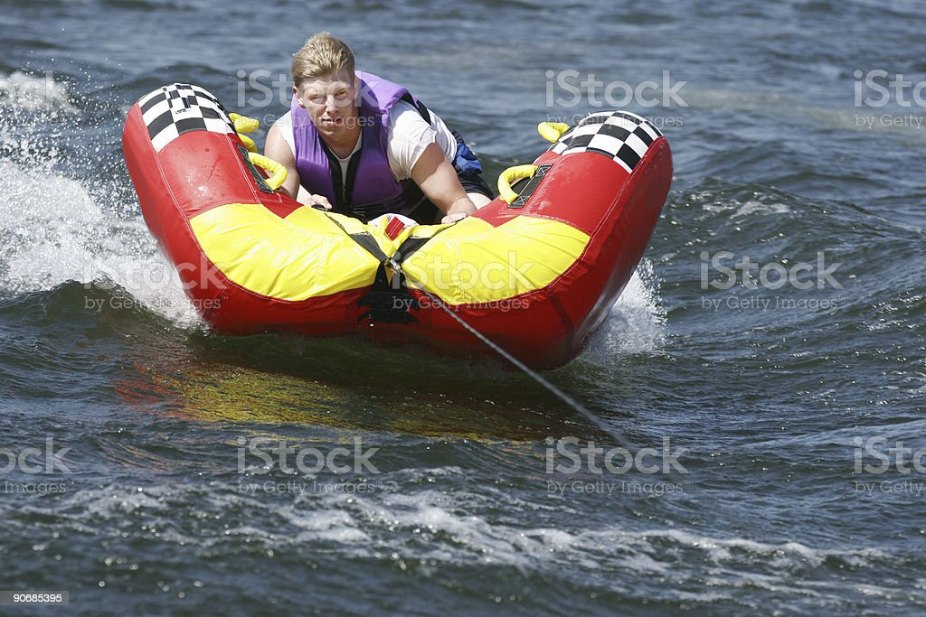 Hold on tight royalty-free stock photo