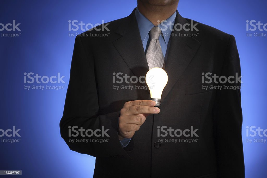 Hold that thought royalty-free stock photo