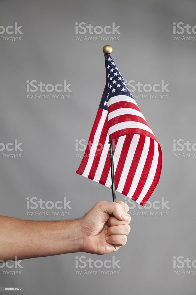 Hold Tight to Freedom royalty-free stock photo