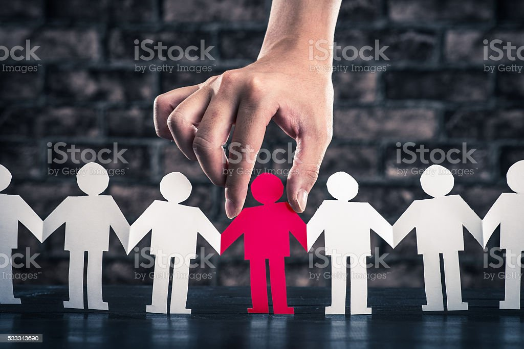 Holding Hands people silhouette stock photo