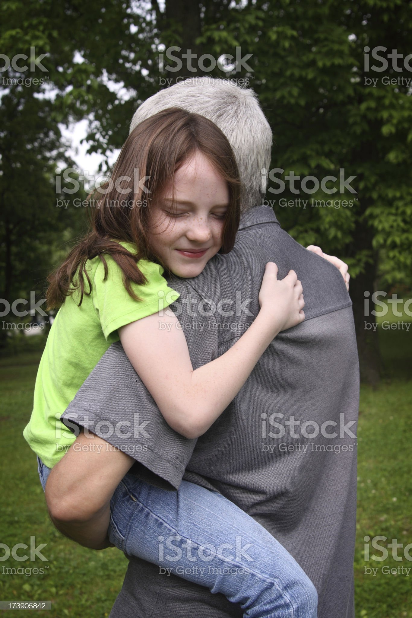 Holding On royalty-free stock photo