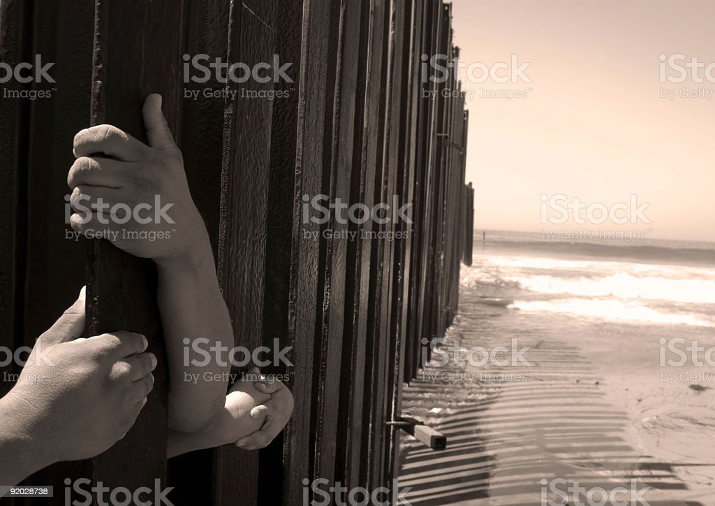 Holding on to a Dream royalty-free stock photo