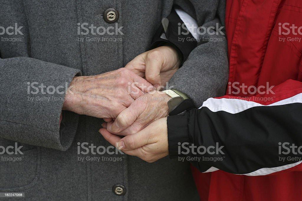 holding royalty-free stock photo