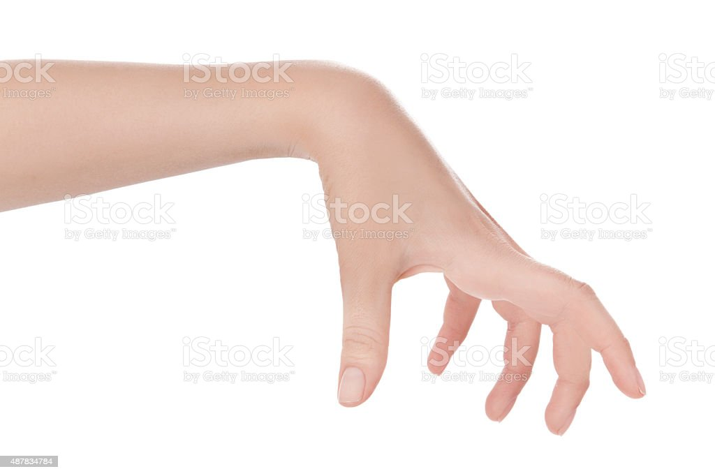 Holding Something stock photo