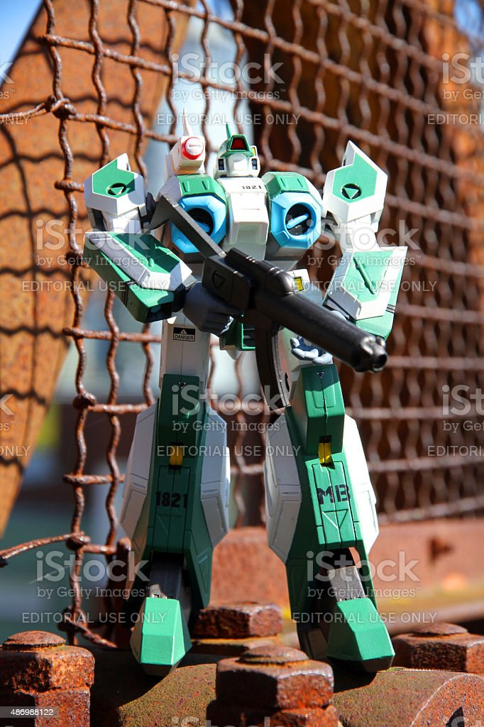 Holding the Line stock photo