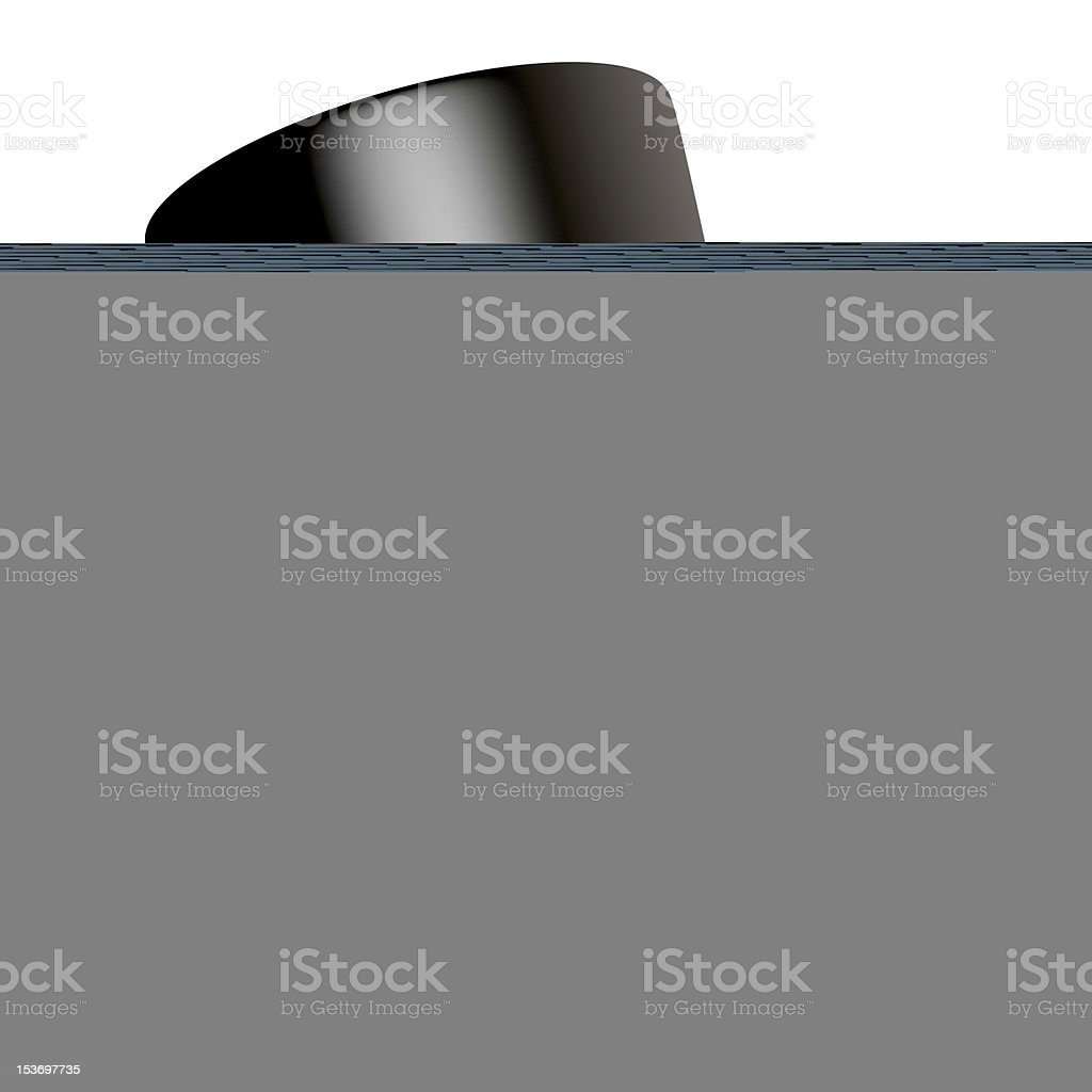holding water glass in the hand royalty-free stock photo