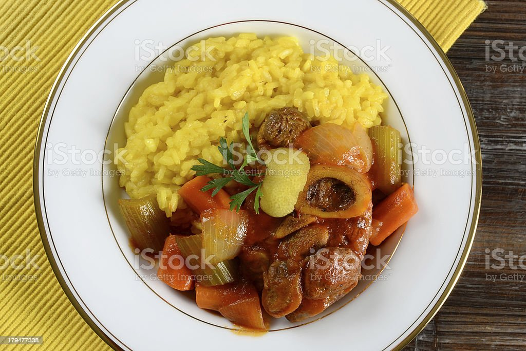 Osso Buco royalty-free stock photo