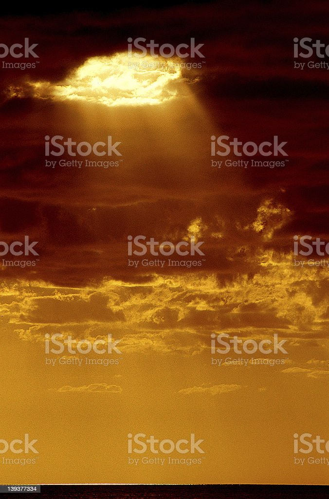 Hole in the heavens. royalty-free stock photo