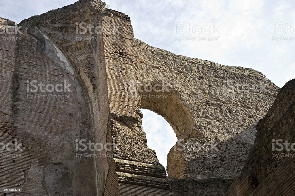 Hole in the wall royalty-free stock photo