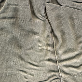 Hole in trousers