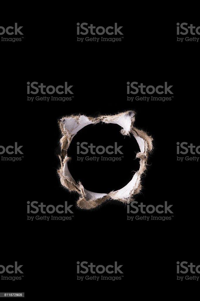 hole stock photo