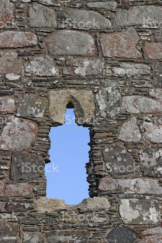 Hole royalty-free stock photo