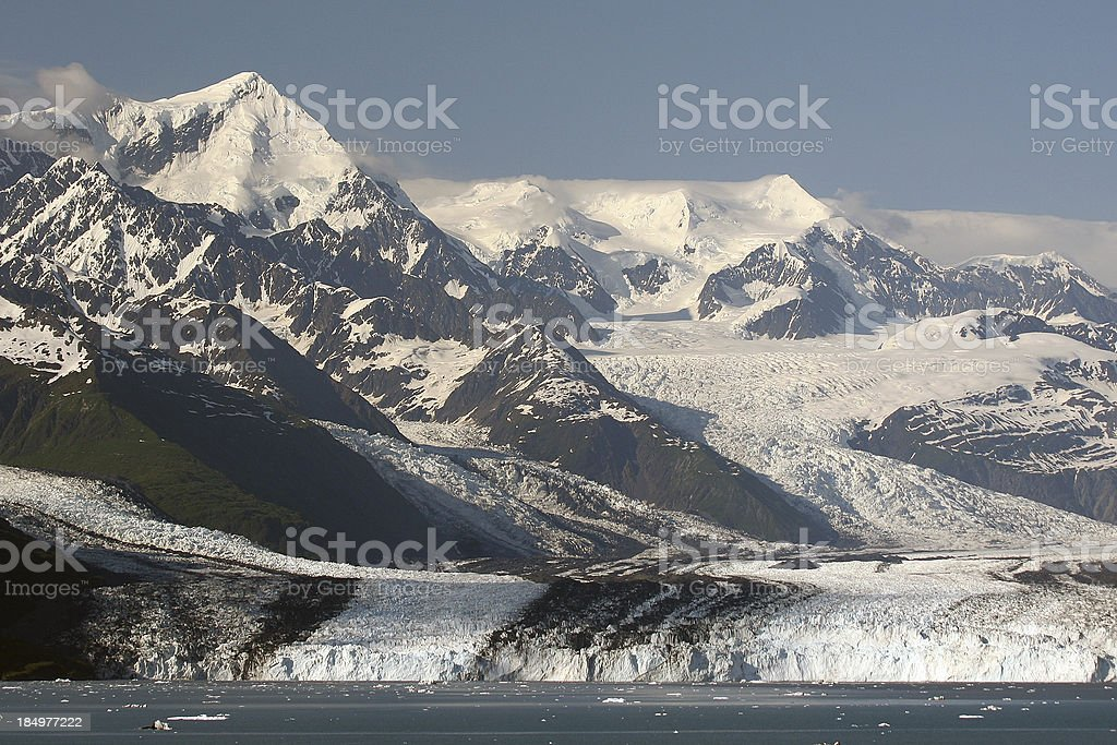 Holgate Glacier, Kenai Fjords National Park stock photo