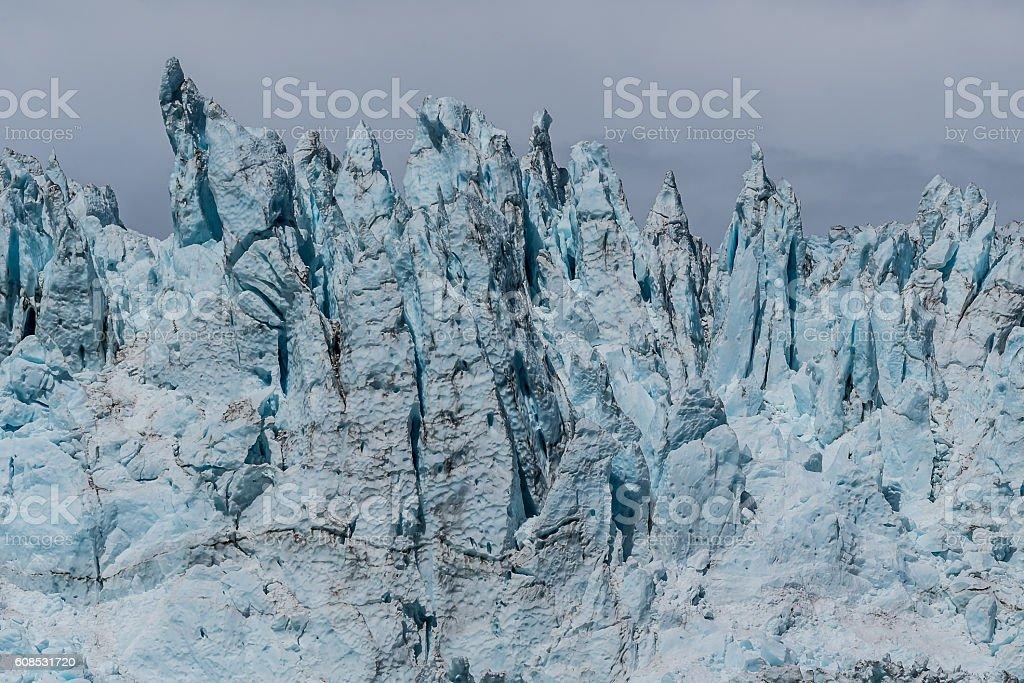 Holgate Glacier stock photo