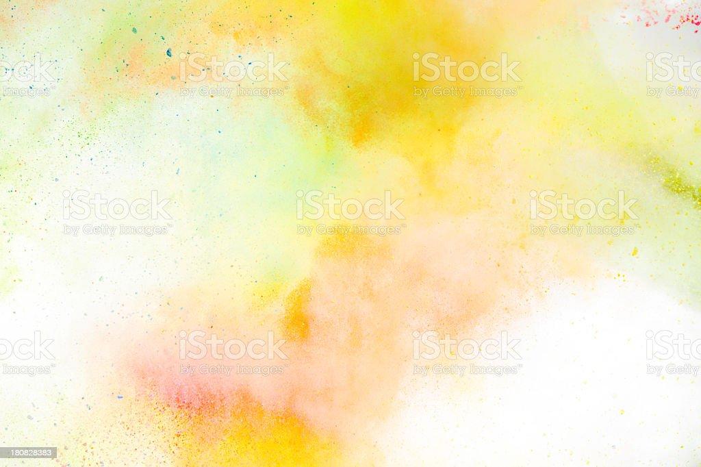 Holi Festival Colors stock photo