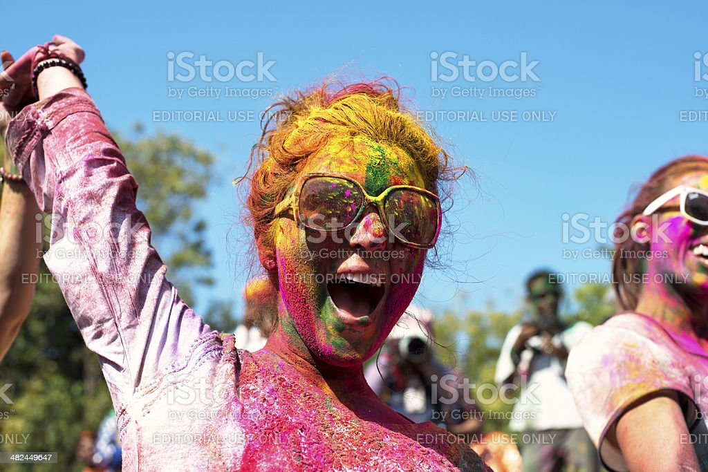 Holi Festival royalty-free stock photo