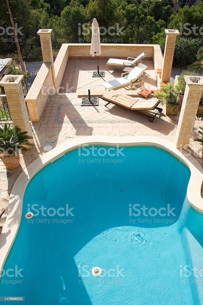 Holiday apartment royalty-free stock photo