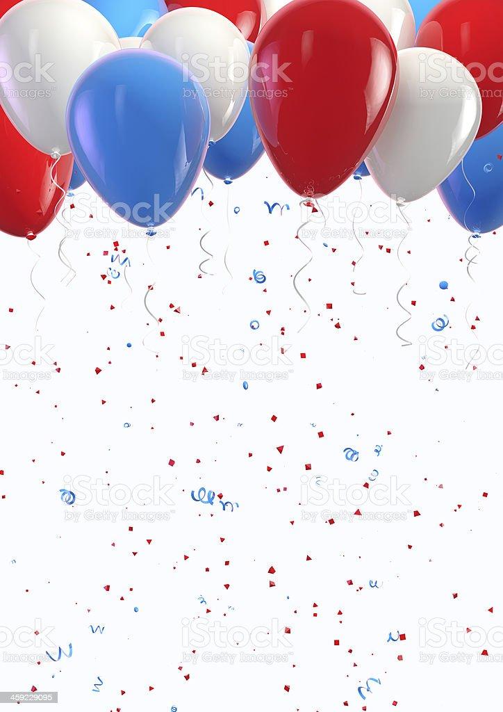 USA Holiday Background stock photo