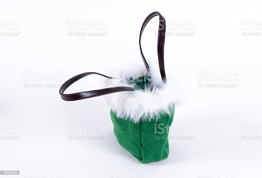 Holiday Bag stock photo