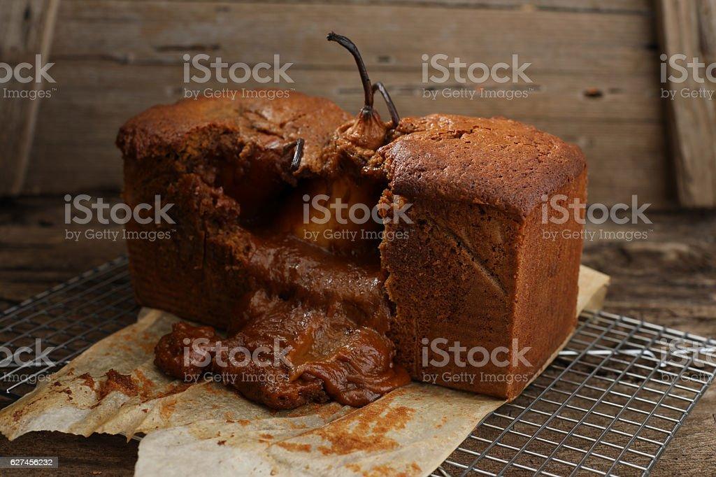 Holiday Baking Catastrophe stock photo