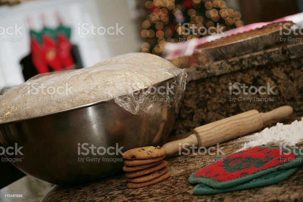 Holiday Baking royalty-free stock photo