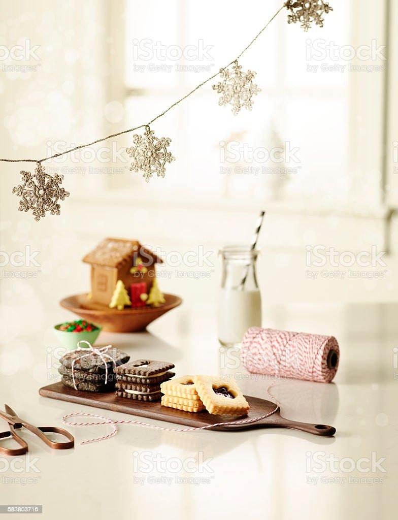 Holiday Baking stock photo