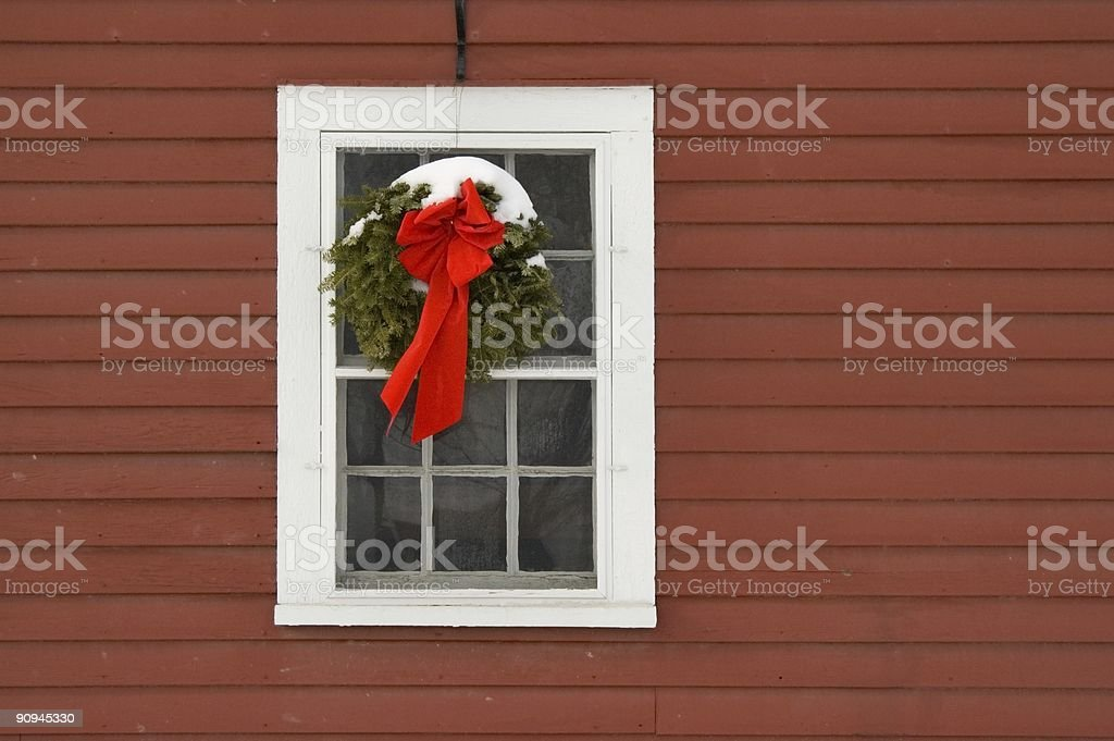 Holiday Barn royalty-free stock photo