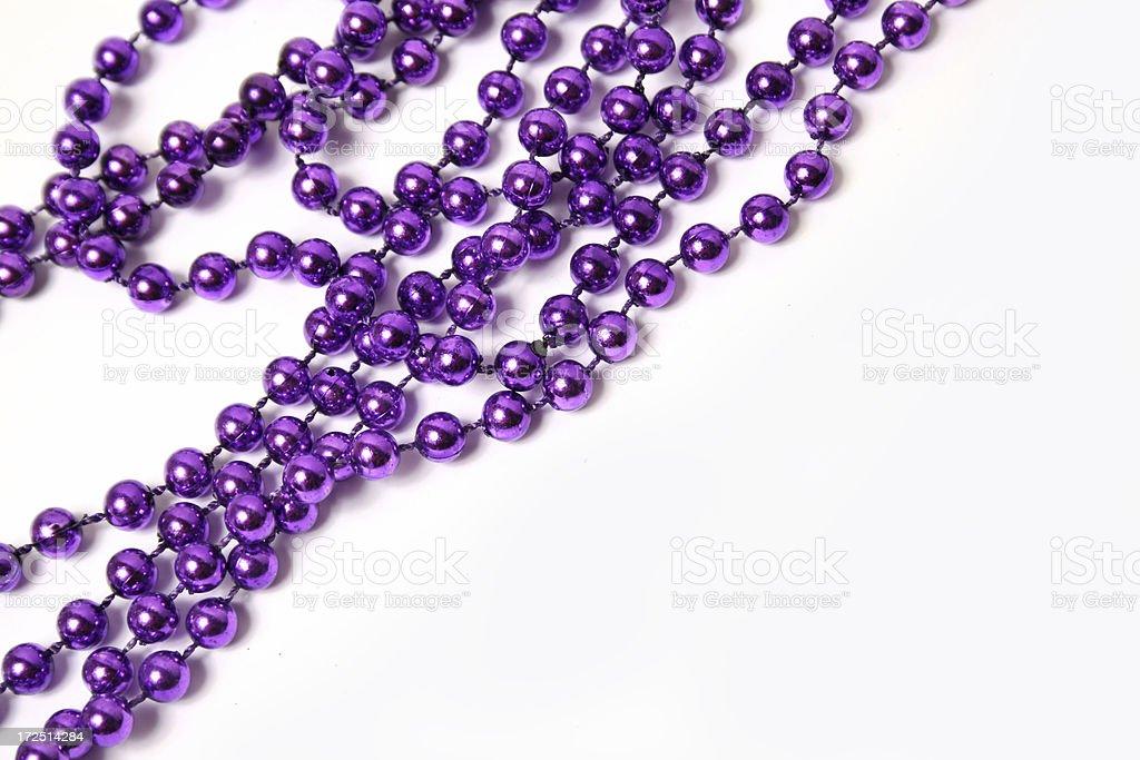 Holiday Beads royalty-free stock photo