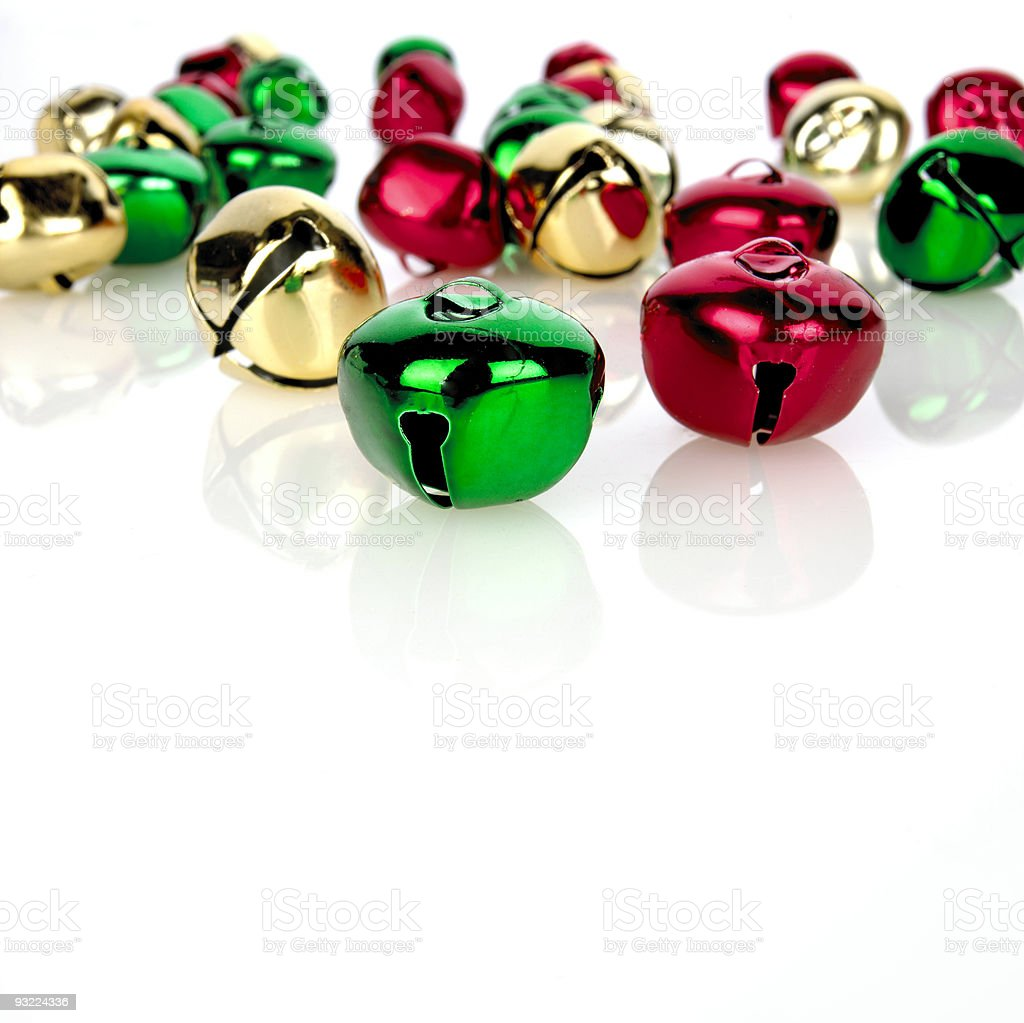 Holiday Bells stock photo