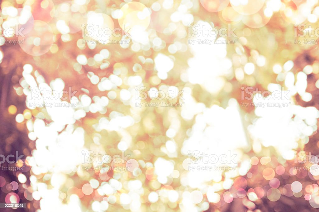 Holiday Bokeh stock photo