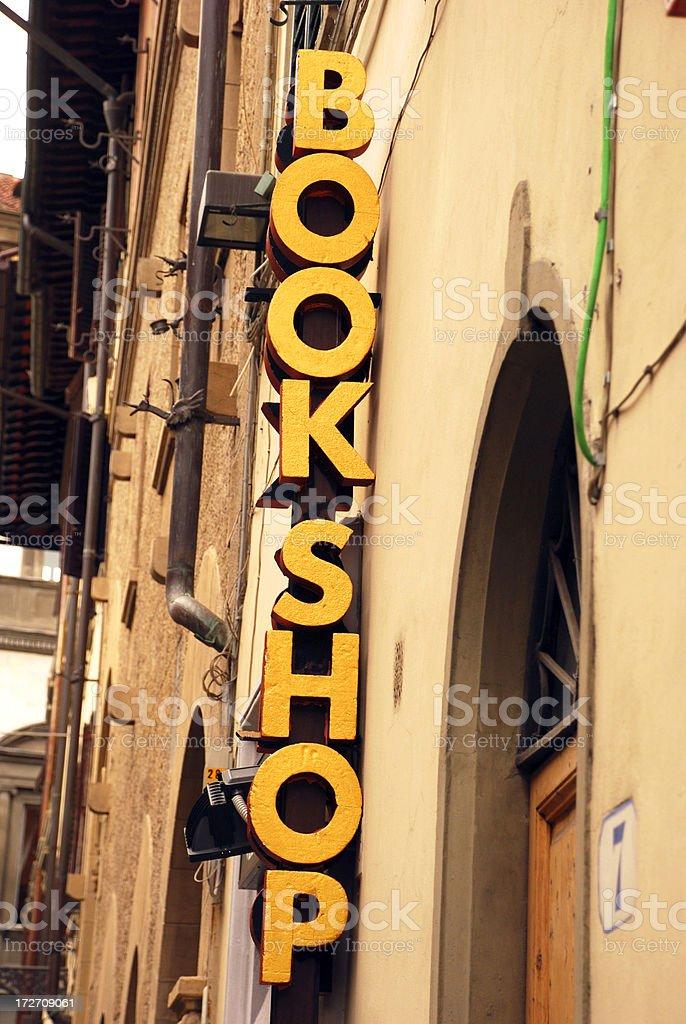 Holiday Bookshop royalty-free stock photo