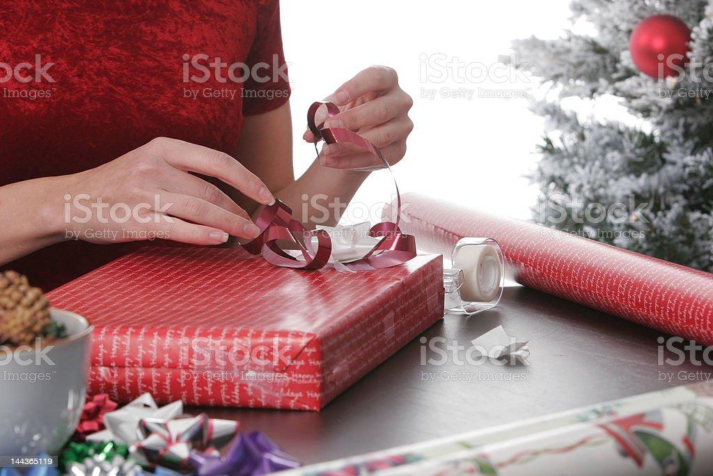 Holiday bows royalty-free stock photo