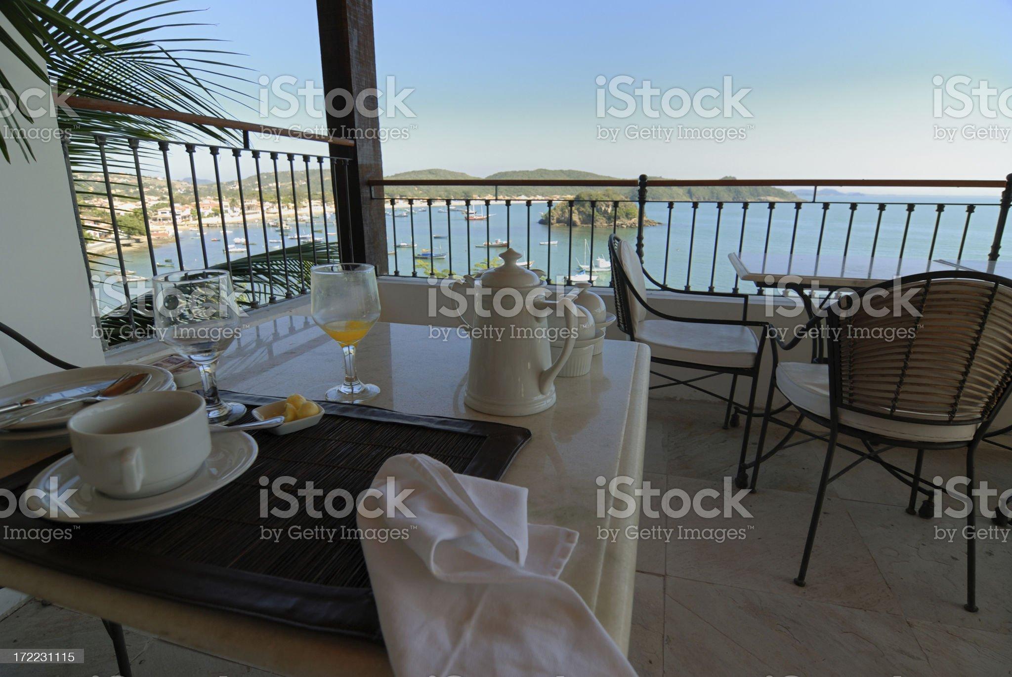 Holiday Breakfast royalty-free stock photo