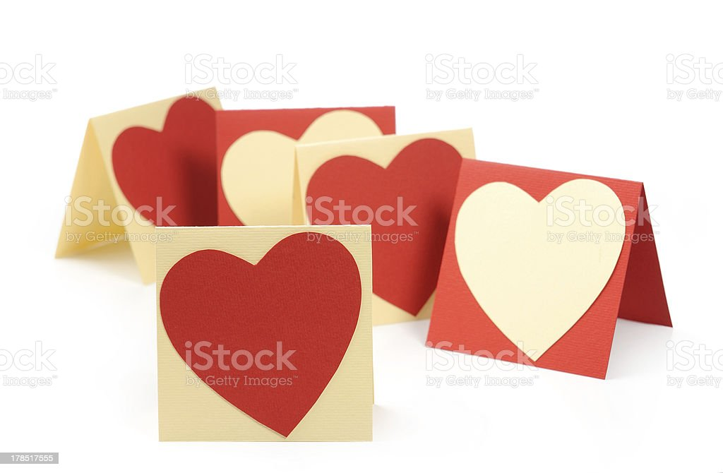 Holiday Card. Heart for Valentines day. royalty-free stock photo