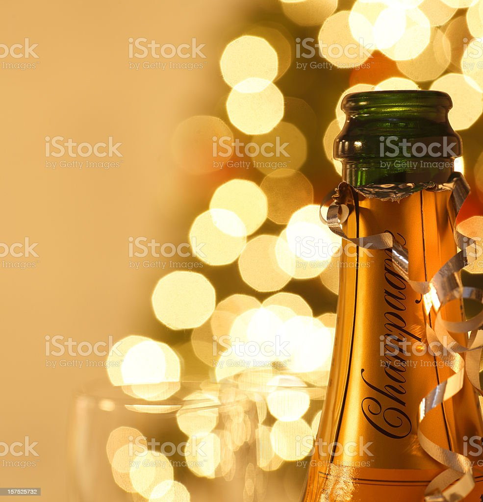 Holiday Champagne royalty-free stock photo