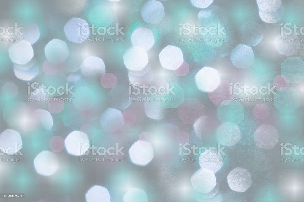 Holiday, Christmas background of colorful defocused lights stock photo