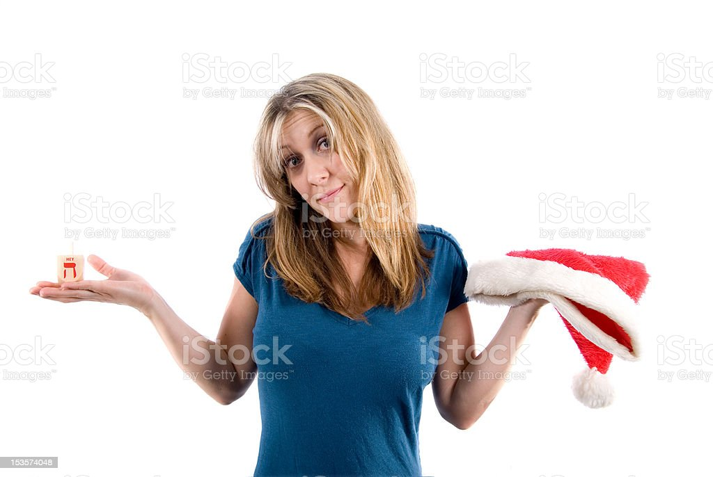 Holiday confusion stock photo