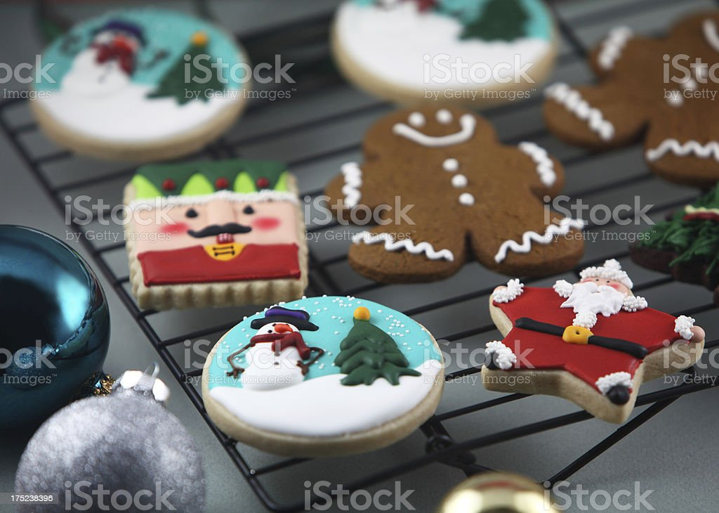 Holiday Cookies royalty-free stock photo