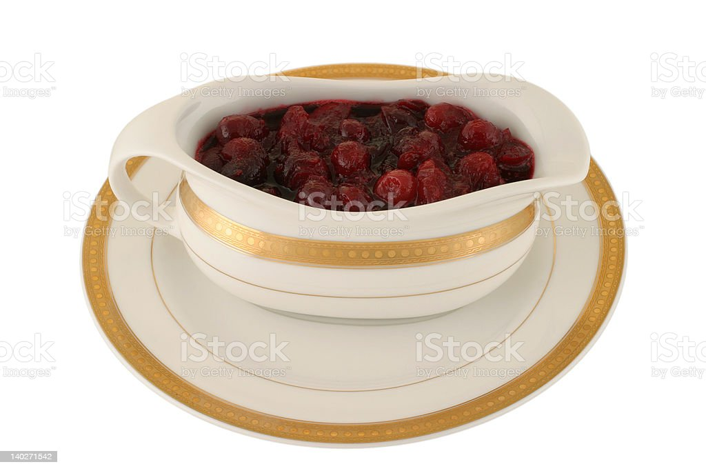 Holiday Cranberry Sauce royalty-free stock photo