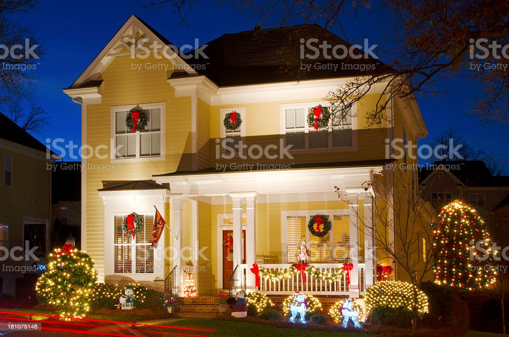 Holiday Decorations royalty-free stock photo