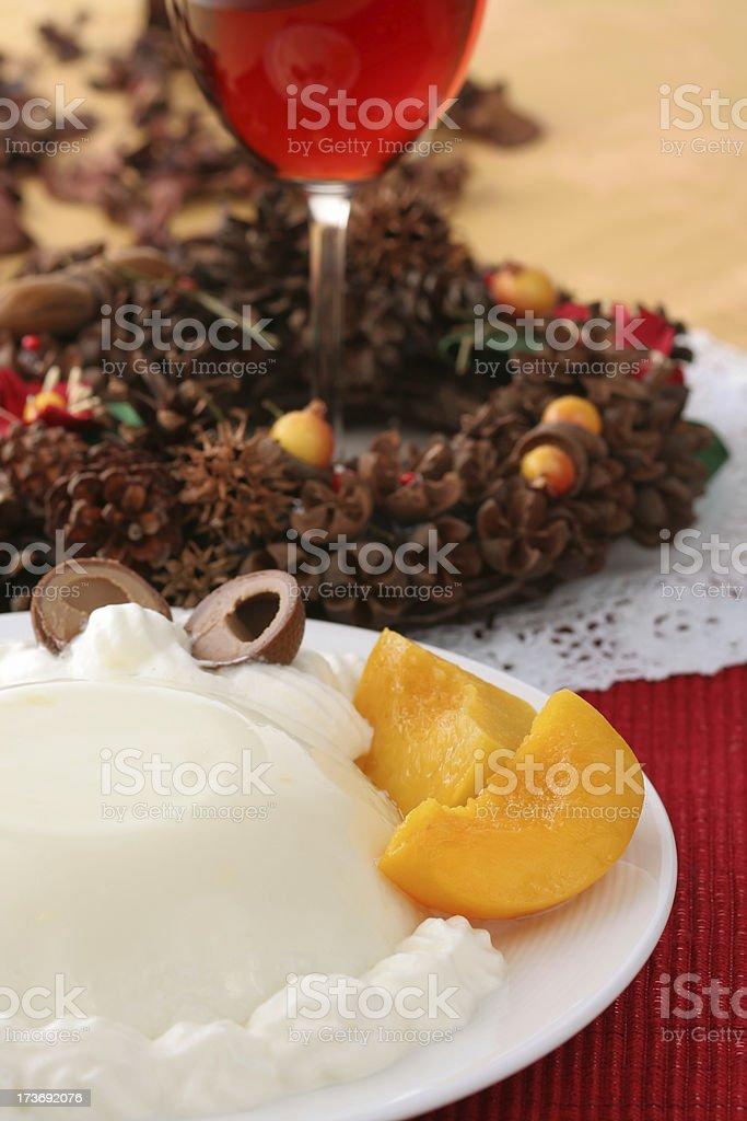 Holiday Dessert royalty-free stock photo