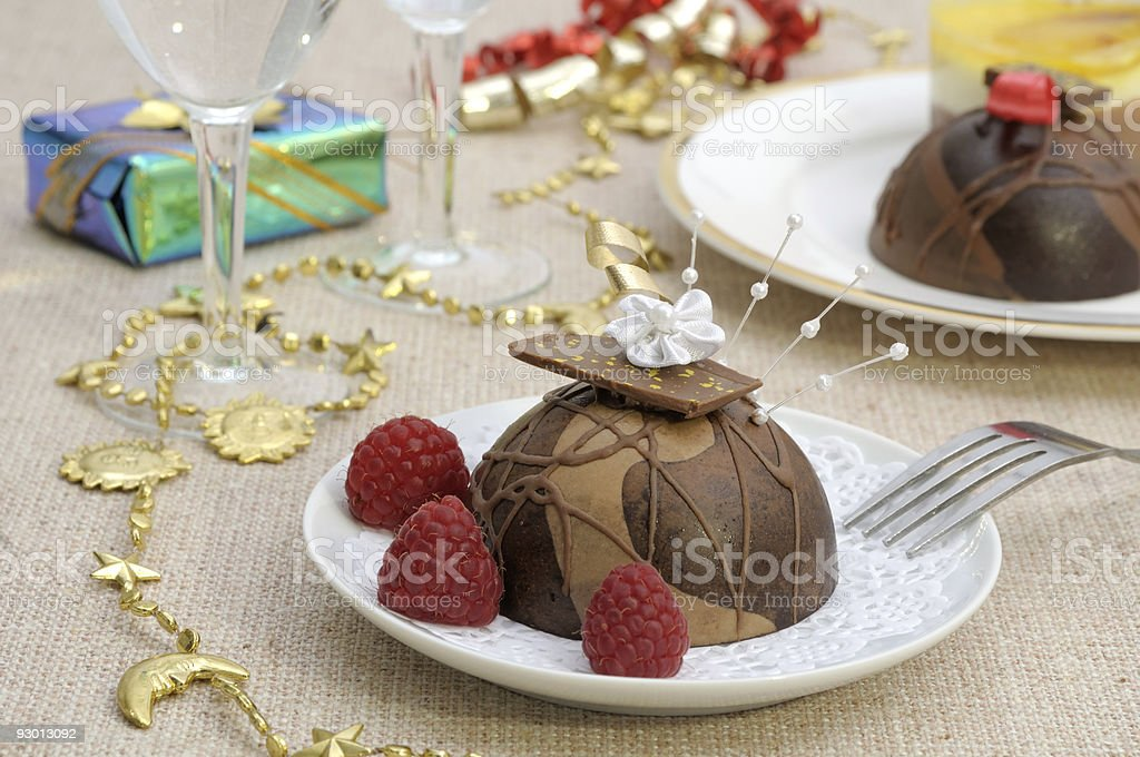 Holiday desserts royalty-free stock photo