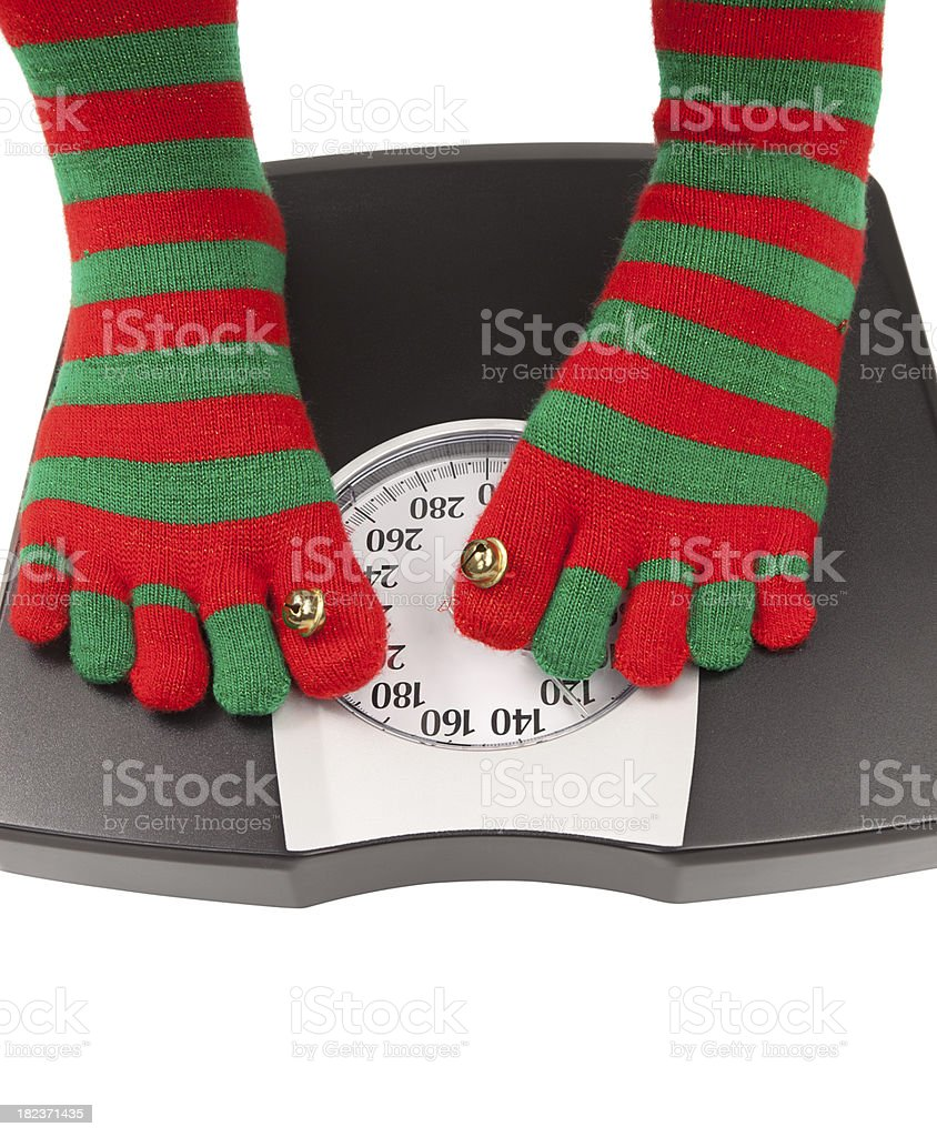 Holiday Diet stock photo