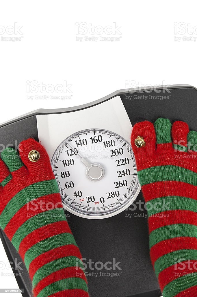 Holiday Diet royalty-free stock photo