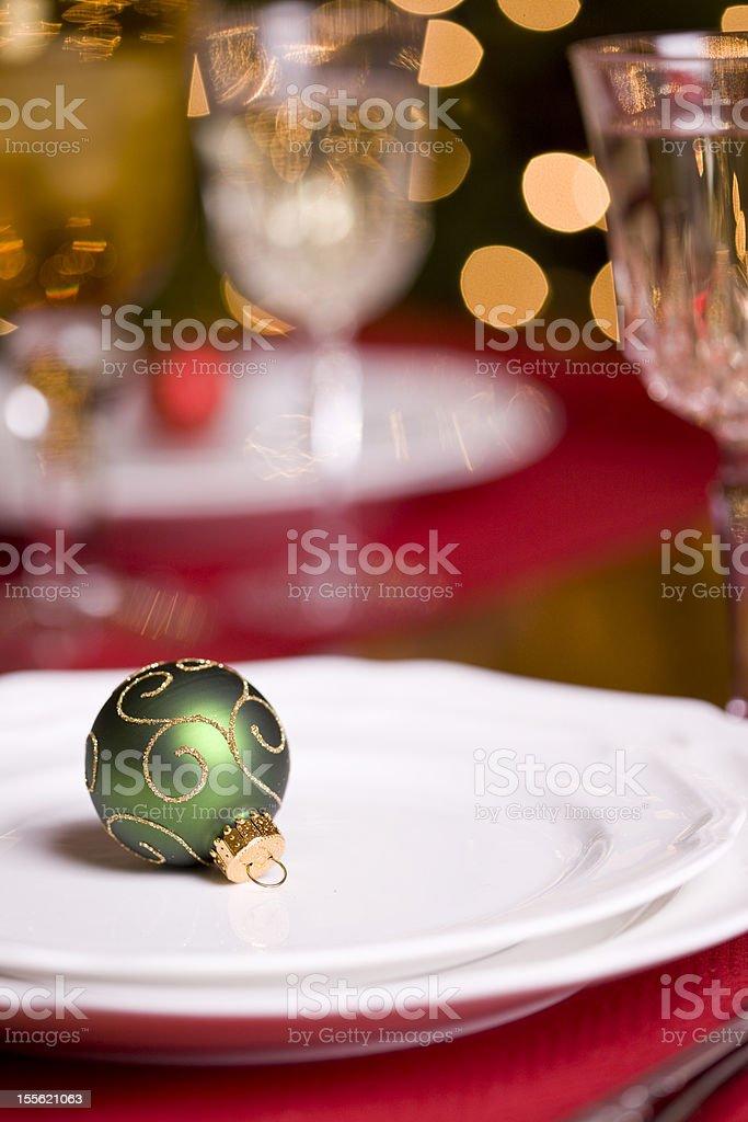 Holiday Dining stock photo