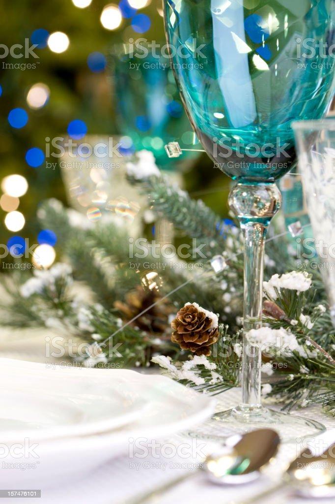 Holiday Dining royalty-free stock photo