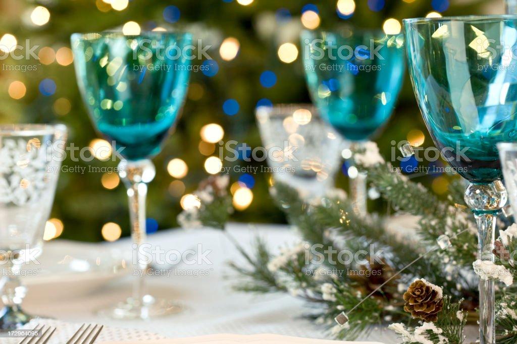 Holiday Dining (XXL) royalty-free stock photo